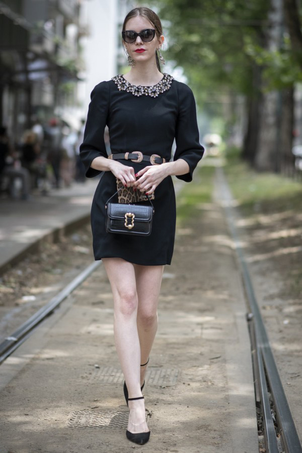 All Black can also be very beautiful